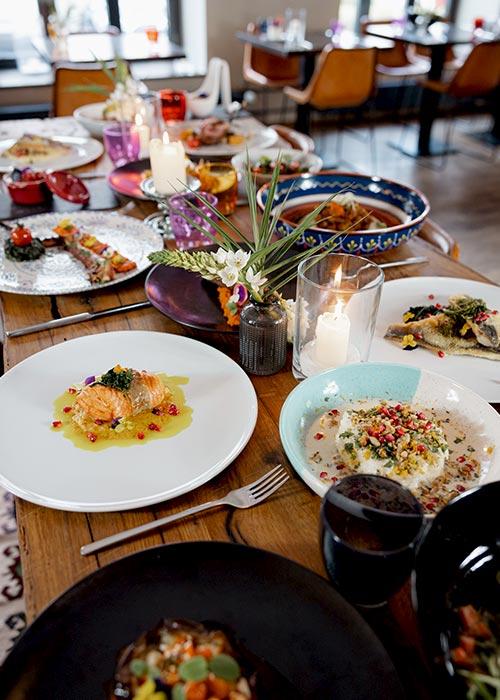 Levante Takeaway Gerichte - Mezze Bar & Restaurant München. Orientalische & mediterrane Küche