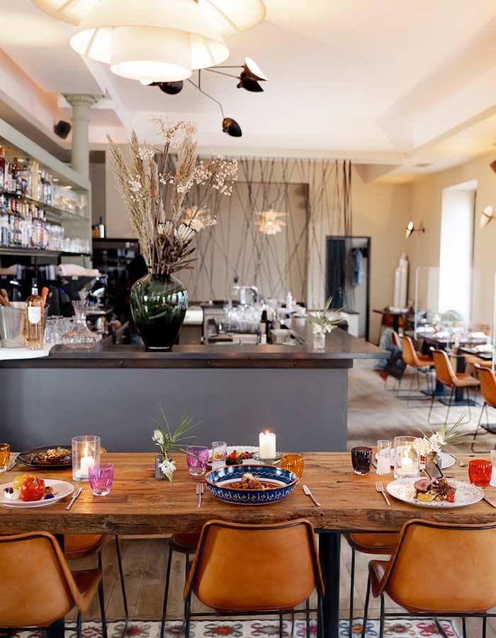 Levante - Mezze Bar & Restaurant München - Orientalische & mediterrane Küche